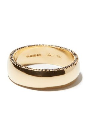 Lizzie Mandler Othello Diamond & 18kt Ring - Mens