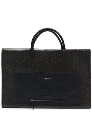 Métier Closer Coated-canvas And Leather Garment Bag - Mens - Multi