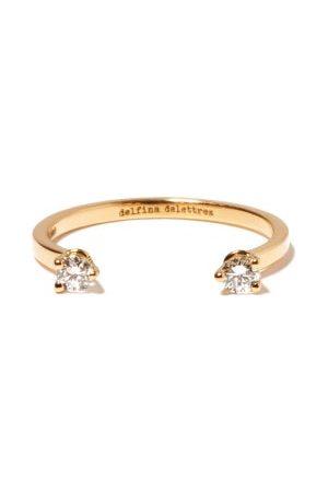 DELFINA DELETTREZ Women Rings - Dots Diamond & 18kt Ring - Womens