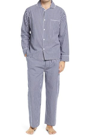 Sant And Abel Men's Gingam Pajamas