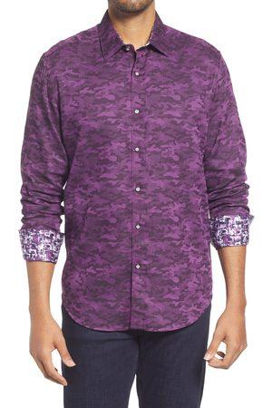 Robert Graham Men's Glory Days Camo Print Button-Up Shirt