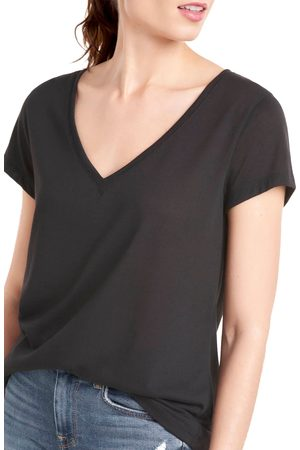 Splendid Women's Recycled Blend V-Neck T-Shirt