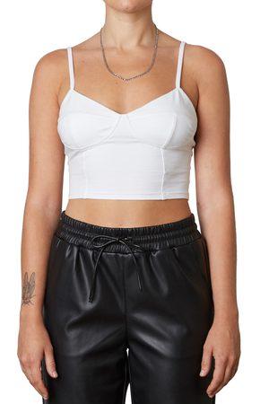 Nia Women's Jersey Bustier Crop Top