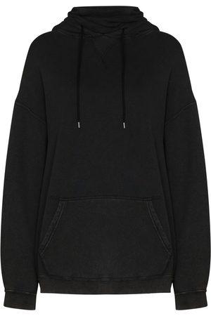 R13 Long-sleeve drawstring hoodie