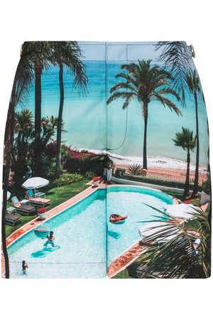 Orlebar Brown Graphic print swim shorts