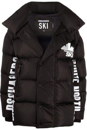 Dsquared2 Logo print padded jacket