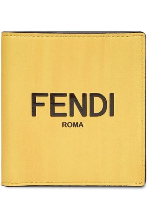 Fendi Two-tone bi-fold wallet