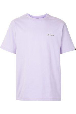 A BATHING APE® Men T-shirts - Embroidered logo cotton T-shirt
