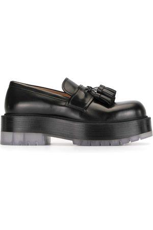 Bottega Veneta Flatform tassled loafers