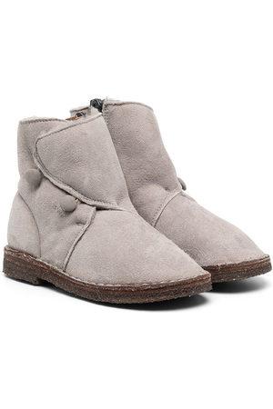 PèPè Buttoned ankle boots - Grey