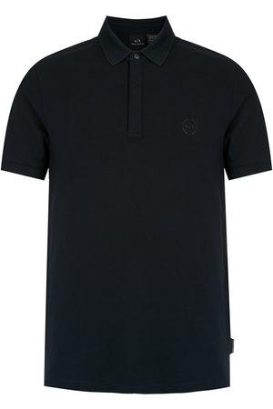 Armani Exchange Logo patch polo shirt
