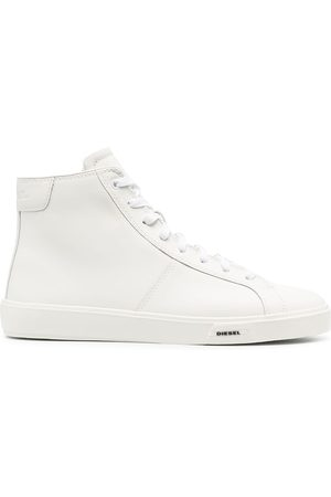 Diesel Leather high-top sneakers