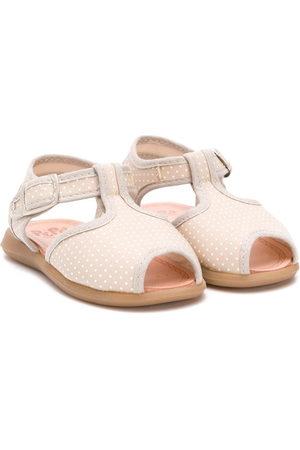 PèPè Polka-dot sandals - Neutrals
