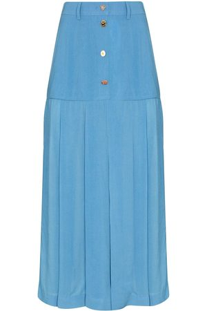 REJINA PYO High-waist pleated midi skirt