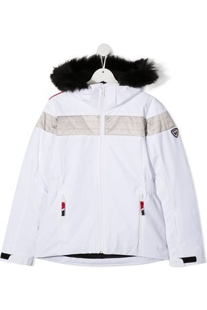Rossignol TEEN faux fur-trimmed padded jacket