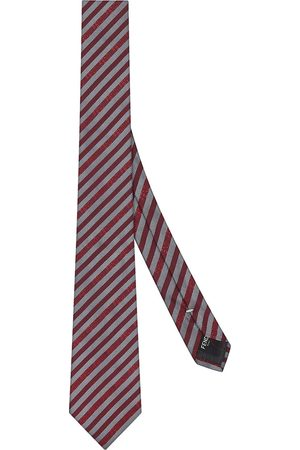Fendi Striped pattern necktie