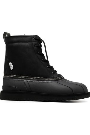 SUICOKE ALAL lace-up ankle boots
