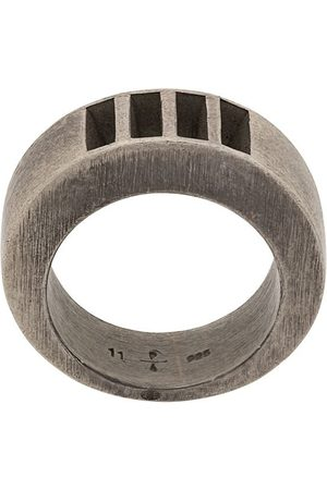 Parts of Four Rings - 4-bar punchout crescent ring
