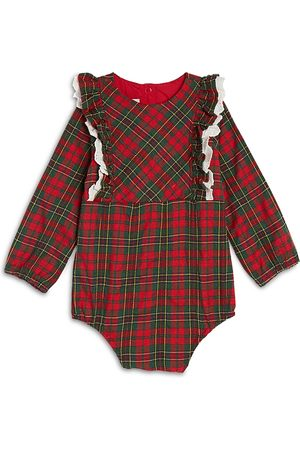 Pippa & Julie Rompers - Girls' Plaid Bodysuit - Baby