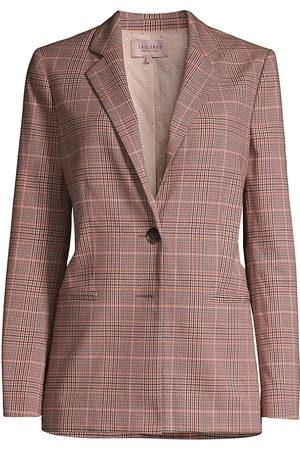 REBECCA TAYLOR Women's Tailored Plaid Blazer - - Size 8
