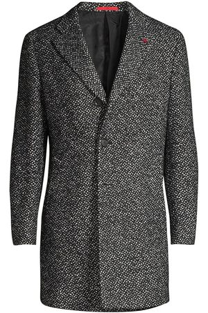 ISAIA Men's Classic Wool-Blend Coat - - Size 48 (38) R