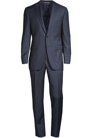 CANALI Men's Classic Italian Wool Suit - - Size 58 (48) L