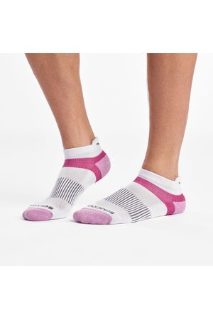 Saucony Inferno No Show Tab 3-Pack Socks WhiteAssorted