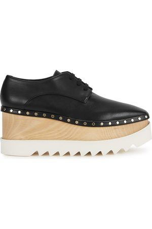 Stella McCartney Elyse 80 faux leather Derby shoes