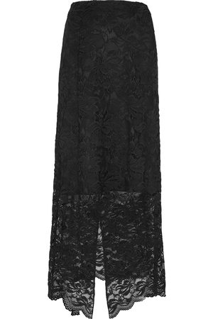 Paco rabanne Lace midi skirt