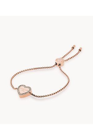 Michael Kors Women's Logo -Tone Slider Bracelet
