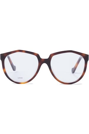 Loewe Oversized round acetate glasses