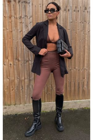 PRETTYLITTLETHING Women Long sleeves - Woven Long Sleeve Blazer