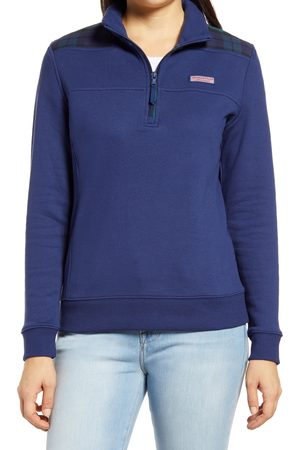 Vineyard Vines Women's Shep Tartan Half-Zip Pullover