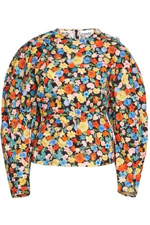 Ganni Printed Cotton Poplin shirt