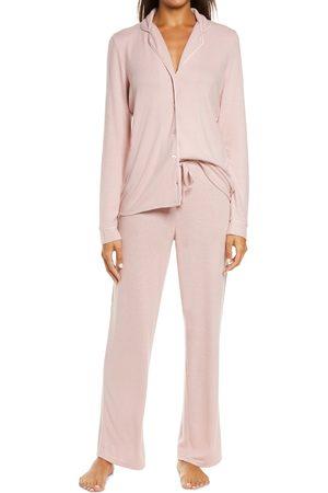 Nordstrom Women's Brushed Hacci Pajamas