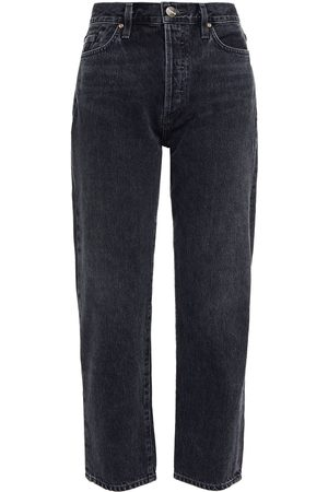 Goldsign Woman The Low Slung Cropped Mid-rise Straight-leg Jeans Size 23