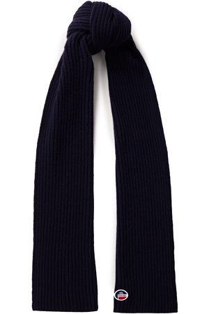 Fusalp Woman Ribbed Merino Wool And Cashmere-blend Scarf Midnight Size