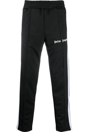 Palm Angels Logo-print slim track pants