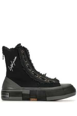 YOHJI YAMAMOTO High-top cotton sneakers