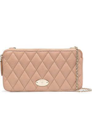 MULBERRY Quilted chain wallet - Neutrals