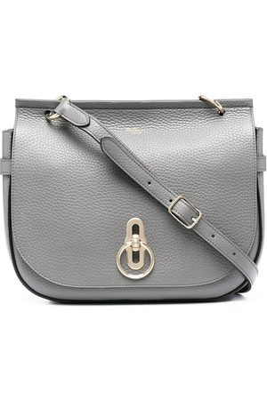 MULBERRY Women Purses - Amberley leather satchel - Grey