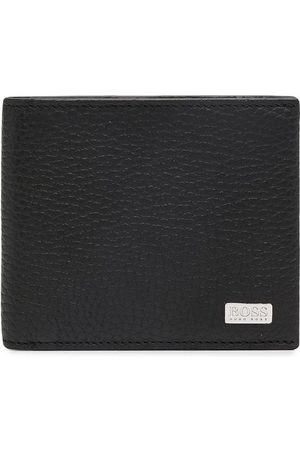 HUGO BOSS Logo-plaque bi-fold wallet