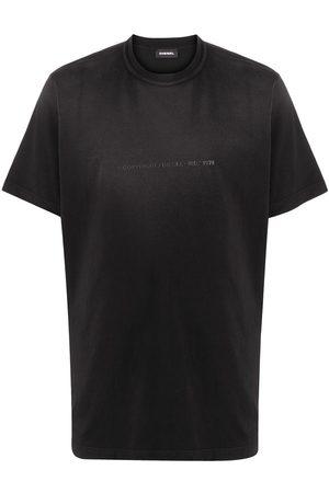 Diesel Copyright logo T-shirt