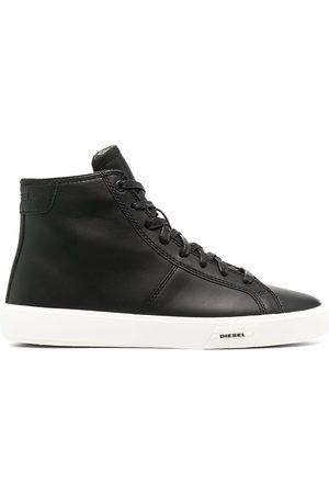 Diesel Leather high-top sneakers