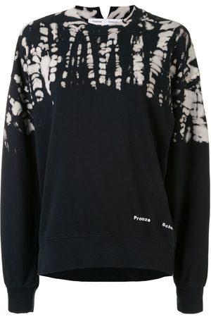PROENZA SCHOULER WHITE LABEL Tie-dye crew-neck sweatshirt