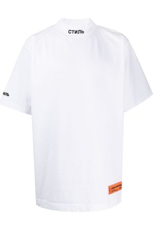 Heron Preston Logo print short-sleeved T-shirt - 0110