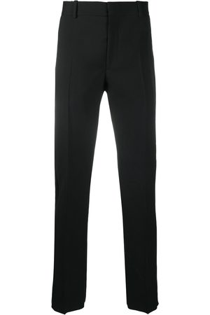 Alexander McQueen Side-stripe tailored trousers