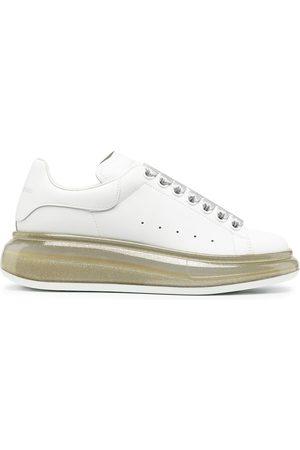 Alexander McQueen Oversized glitter-sole sneakers