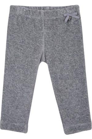 Lapin House Girls Leggings - High-waisted bow detail leggings - Grey