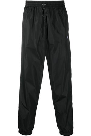 MARCELO BURLON Cross nylon track pants